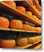 Cheese In Holland Metal Print
