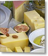 Cheese Plate Metal Print