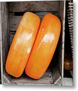 Cheese Wheels Metal Print