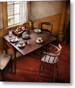 Chef - Kitchen - Kids Breakfast Is Ready  Metal Print