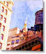 Chelsea Water Tower Metal Print