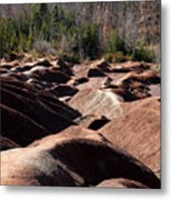 Cheltenham Badlands Metal Print