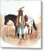 Cherokee Lighthorse Metal Print