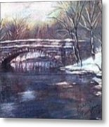 Cherokee Park Bridge Metal Print
