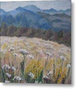 Cherokee Wildflowers Metal Print