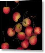 Cherries Multiplied Metal Print