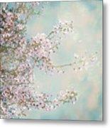 Cherry Blossom Dreams Metal Print
