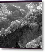 Cherry Blossom Season In Japan Mountain Hills Trees Photography By Navinjoshi At Fineartamerica.com  Metal Print