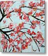 Cherry Blossoms V 201631 Metal Print