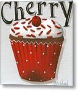 Cherry Celebration Metal Print