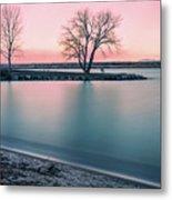 Cherry Creek Sunrise Metal Print