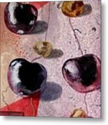 Cherry Music Metal Print