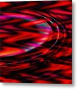 Cherry Red- Metal Print