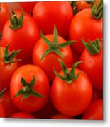Cherry Tomatoes Fine Art Food Photography Metal Print