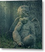 Cherub Lost In Thoughts Metal Print