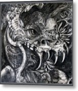 Cherubim Of Beasties Metal Print