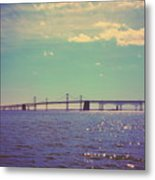 Chesapeake Bay Bridge Metal Print