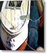 Chesapeake Boat Metal Print