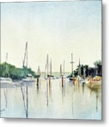 Chesapeake Morning Metal Print