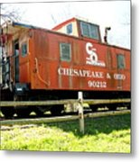 Chesapeake -ohio Rr Metal Print