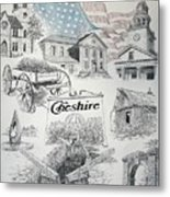 Cheshire Historical Metal Print