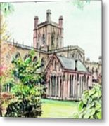 Chester Cathedral England Metal Print