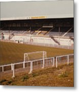 Chester - Sealand Road - Main Stand 2 - 1979 Metal Print