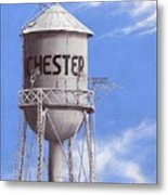 Chester Water Tower Ne Metal Print