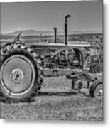 Chesterfield Tractor Metal Print