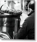 Chestnuts In Rome Metal Print