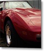 Chevrolet Corvette 1977 Metal Print