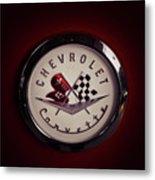 Chevrolet Corvette, Corvette Logo Metal Print