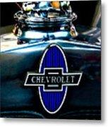 Chevrolet Hoodie Metal Print