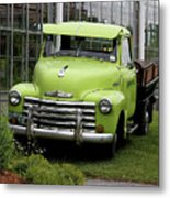 Chevrolet Old Metal Print