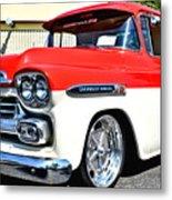 Chevy Apache Custom Hot Rod Truck Metal Print