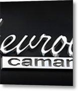 Chevy Camaro Emblem Metal Print