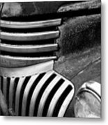 Chevy Grill Metal Print