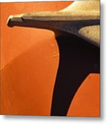 Chevy Hood Ornament Metal Print