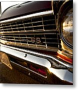 Chevy Nova Ss Metal Print by Cale Best