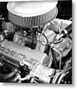 Chevy Power Metal Print