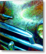 1953 Bel Air Chevy Project 2 Metal Print