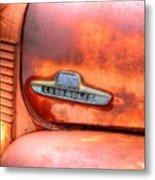 Chevy Truck Emblem Metal Print