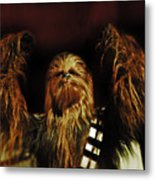 Chewie Metal Print