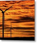 Cheyenne Sunrise Metal Print
