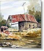 Cheyenne Valley Station Metal Print