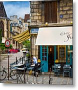 Chez Julien Metal Print by Inge Johnsson