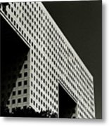 Chiaroscuro Construction Metal Print