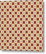 Chic Seamless Tile Pattern Metal Print