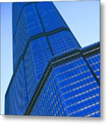 Chicago Abstract 2 Metal Print