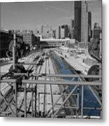Chicago Amtrak Metal Print
